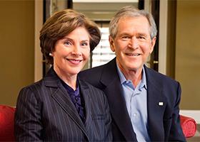 President George & Laura Bush